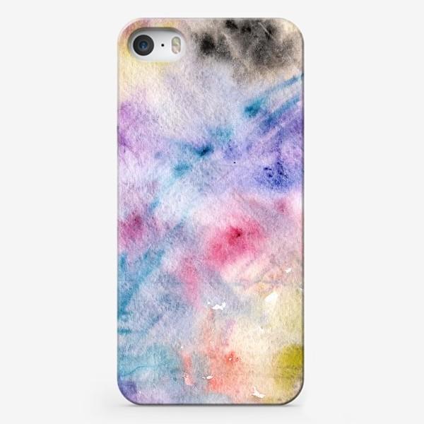 Чехол iPhone «Абстракция в акварели»