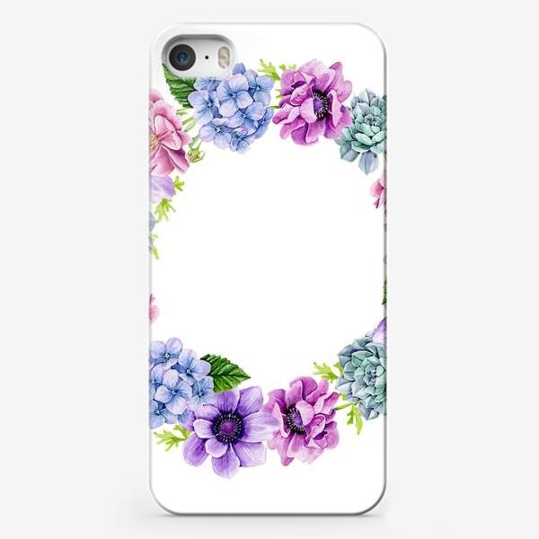 Чехол iPhone «Flower Buds 4»