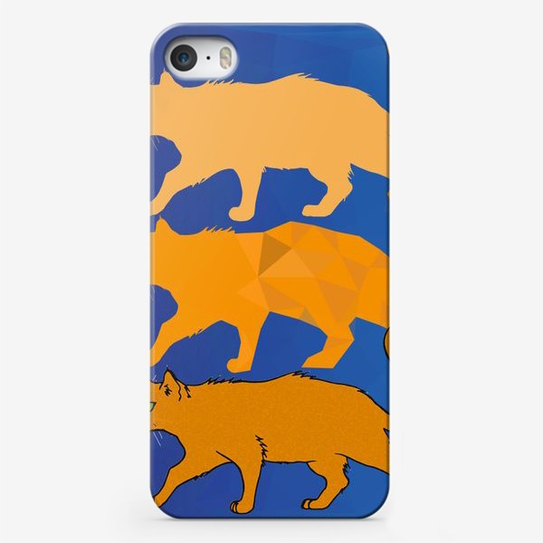 Чехол iPhone «Кот-т-т»