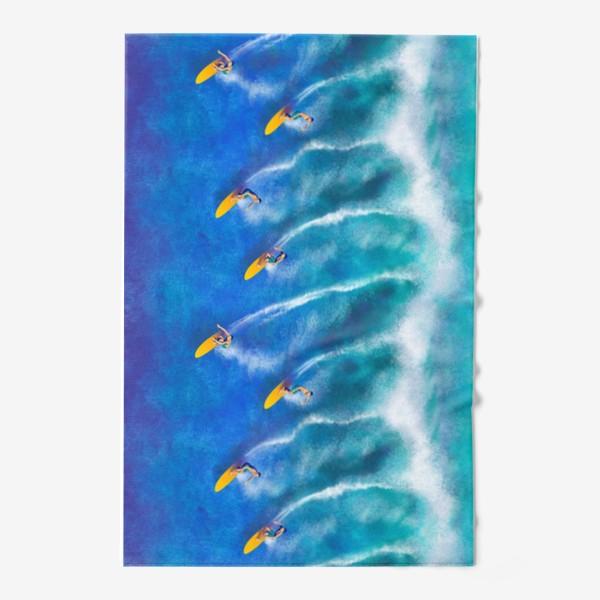 Полотенце «Серфинг. Вызов стихии»
