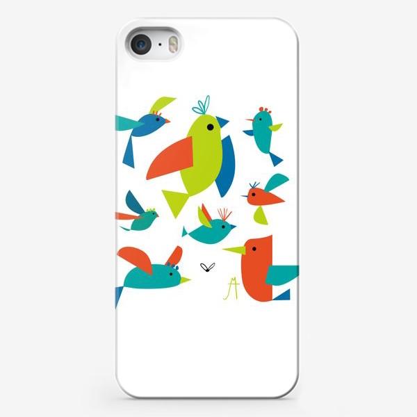 Чехол iPhone «пташки»