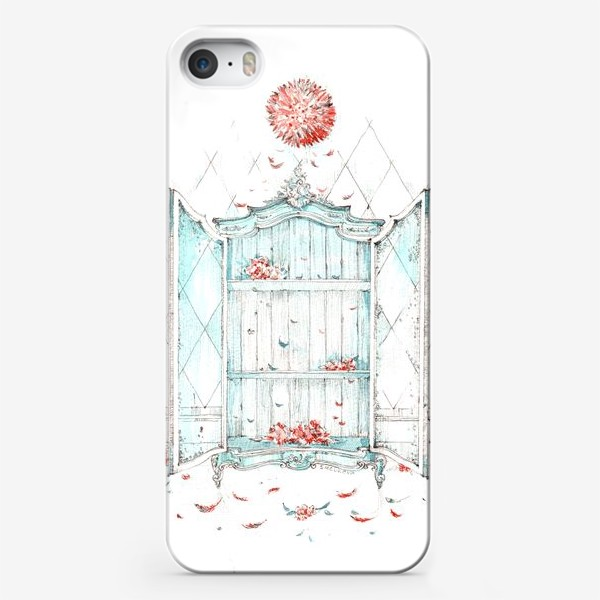 Чехол iPhone «Камерунская шляпа и мятный шкаф роз»