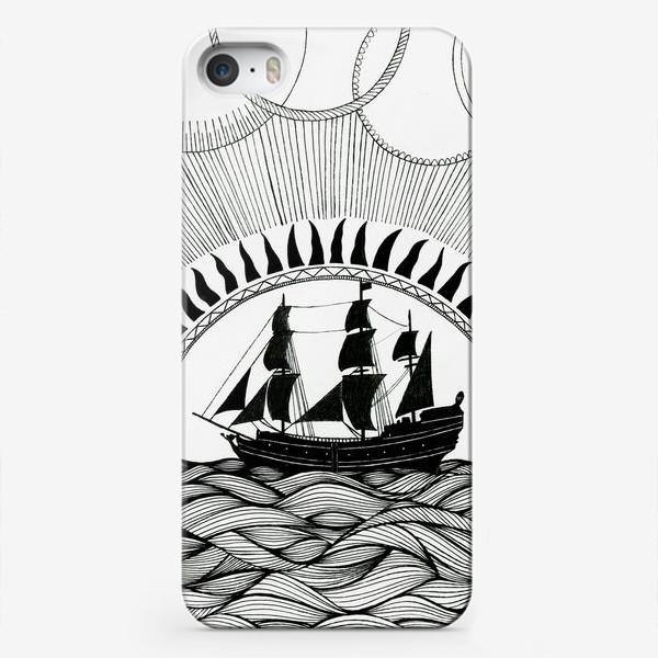 Чехол iPhone «Корабль»