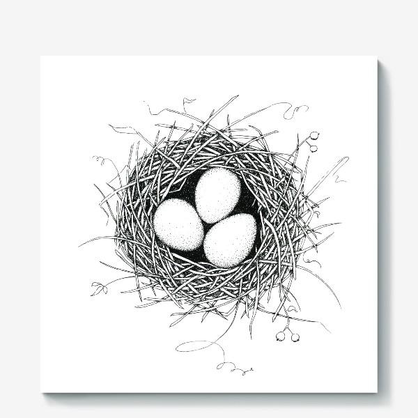 Холст «Гнездо»