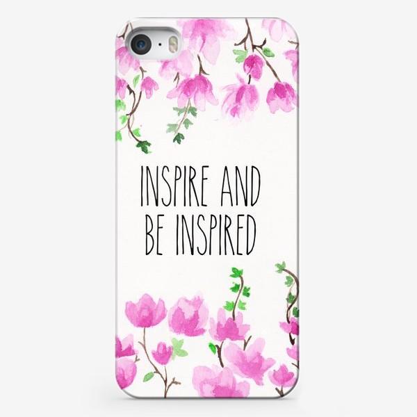 Чехол iPhone «Inspire_Вдохновляй»