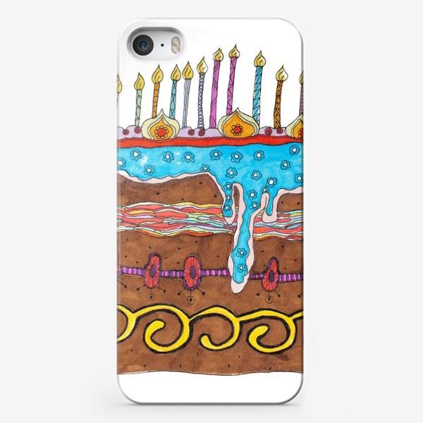 Чехол iPhone «Праздничный торт»