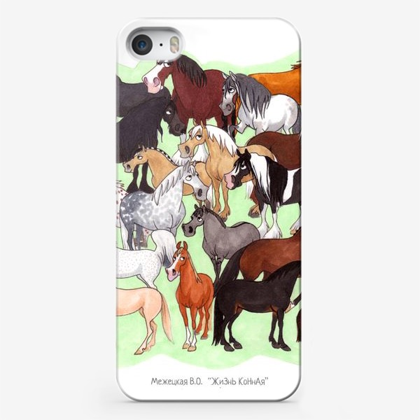 Чехол iPhone «Конедудл»