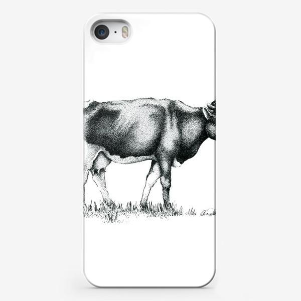 Чехол iPhone «Корова»