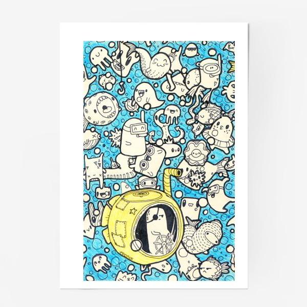Постер «Yellow Submarine»