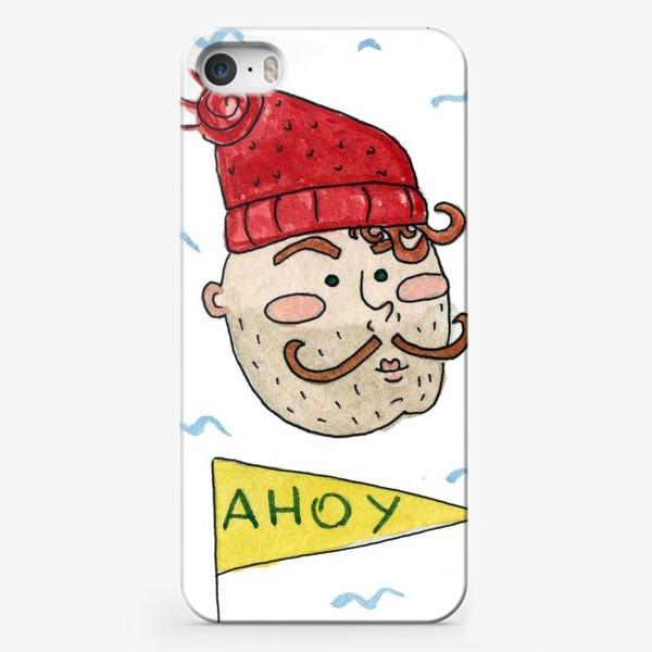 Чехол iPhone «Моряк в шапке»