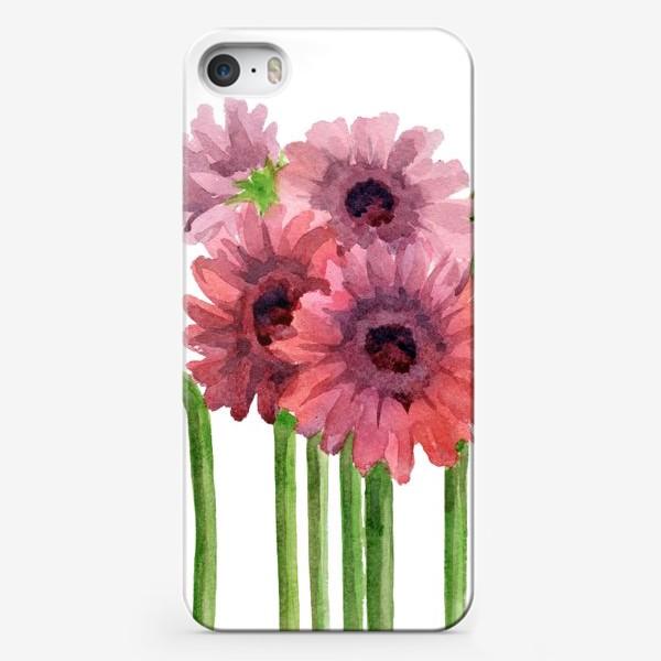 Чехол iPhone «Герберы»