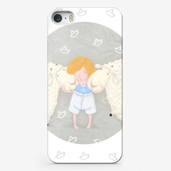 Чехол iPhone «оленька и бяши»