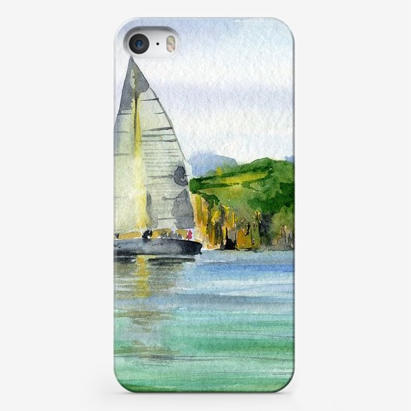 Чехол iPhone «Парусник в море»