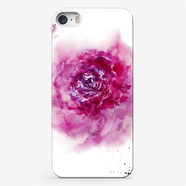 Чехол iPhone «О чем молчит пион»