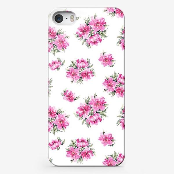 Чехол iPhone «Цветочная феерия»