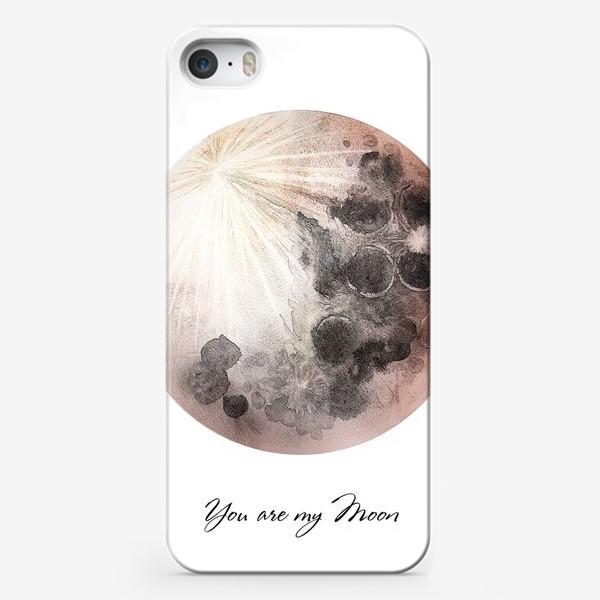 Чехол iPhone «Ты моя Луна»