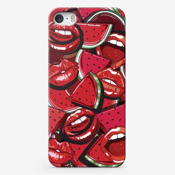 Чехол iPhone «Sweet lips»