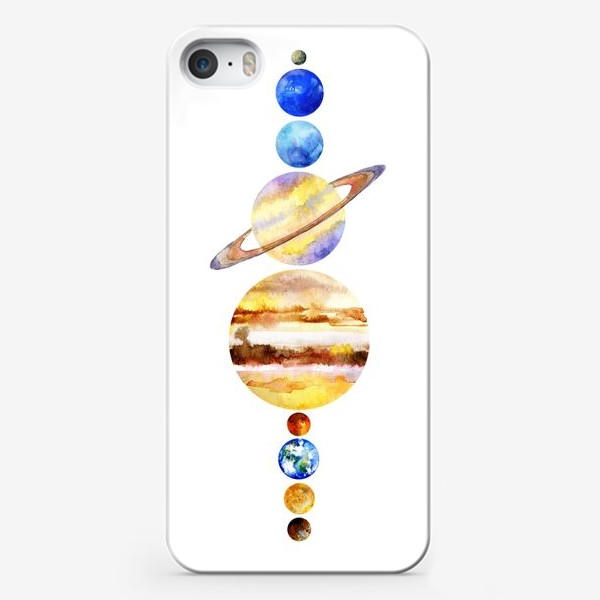 Чехол iPhone «Планетки»