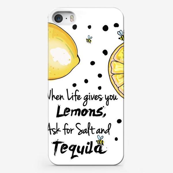 Чехол iPhone «Лимонный»