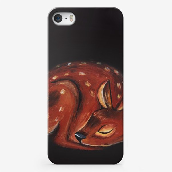Чехол iPhone «Спящий олень»