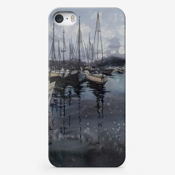 Чехол iPhone «Лодки в порту»