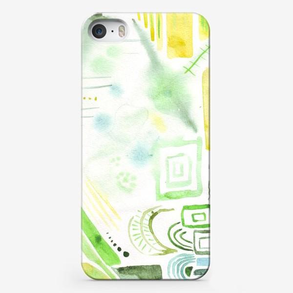 Чехол iPhone «Акварельные фантазии 2»