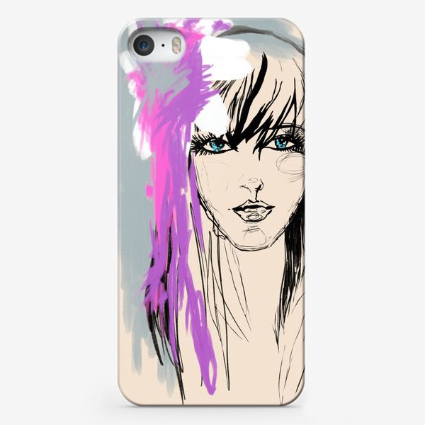 Чехол iPhone «набросок»