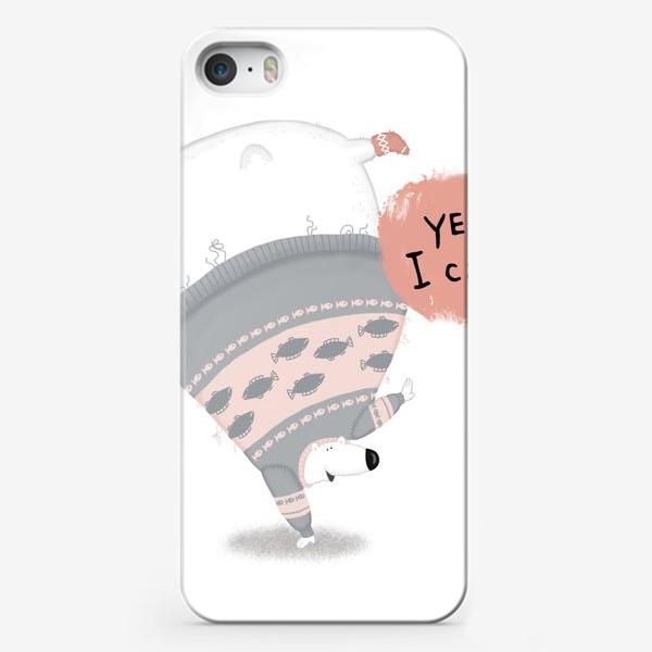 Чехол iPhone «мишка-чемпион»