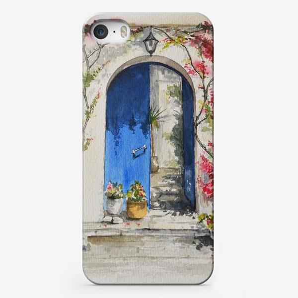 Чехол iPhone «Греческий дворик»