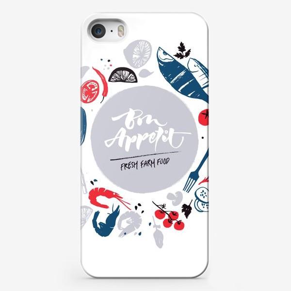 Чехол iPhone «Рыбный день»