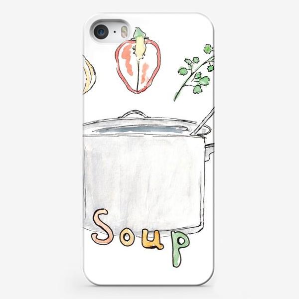 Чехол iPhone «Soup»