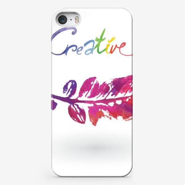 Чехол iPhone «Creative»
