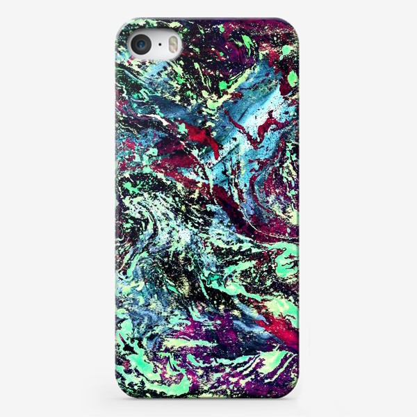 Чехол iPhone «цветовой всплеск»