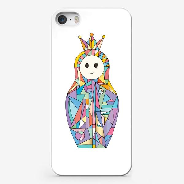 Чехол iPhone «Матрешка аниме принцесса»