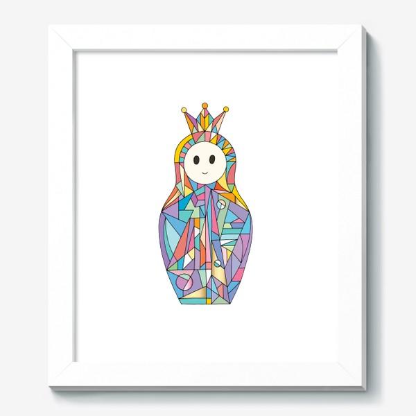Картина «Матрешка аниме принцесса»