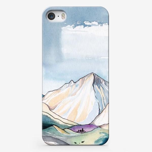Чехол iPhone «Горы»