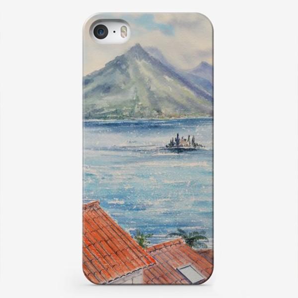 Чехол iPhone «страна красных крыш»