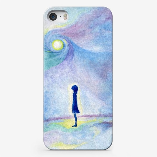 Чехол iPhone «Наедине с Вселенной»