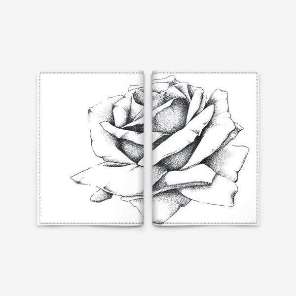 Обложка для паспорта «Роза»