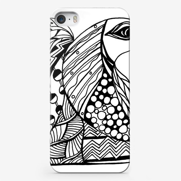Чехол iPhone «Птичий Ангел»
