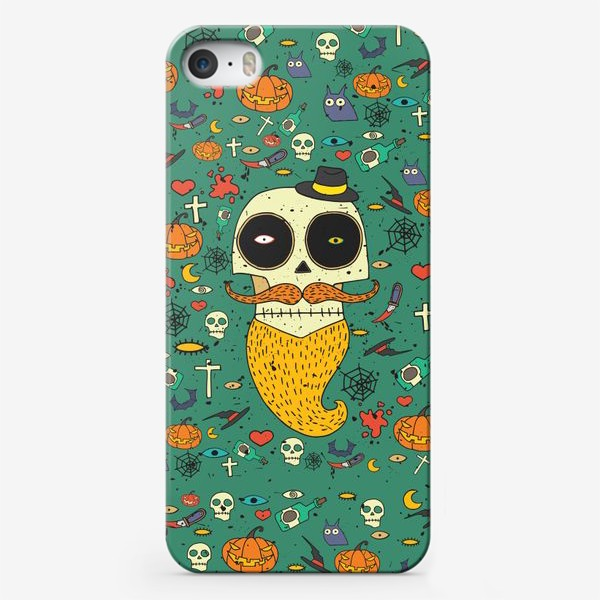 Чехол iPhone «Fashion skull»