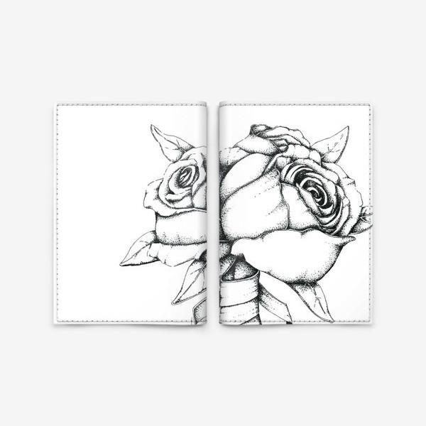 Обложка для паспорта «Букет»
