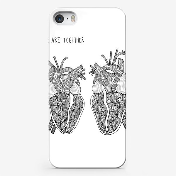 Чехол iPhone «We Are Together»