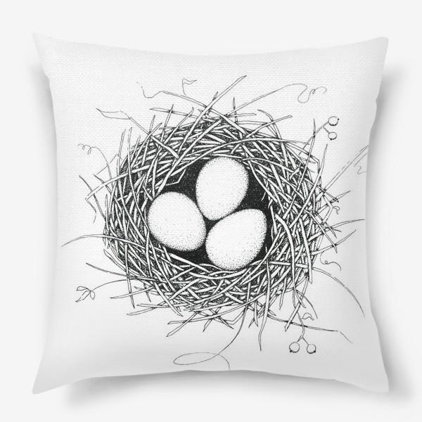 Подушка «Гнездо»