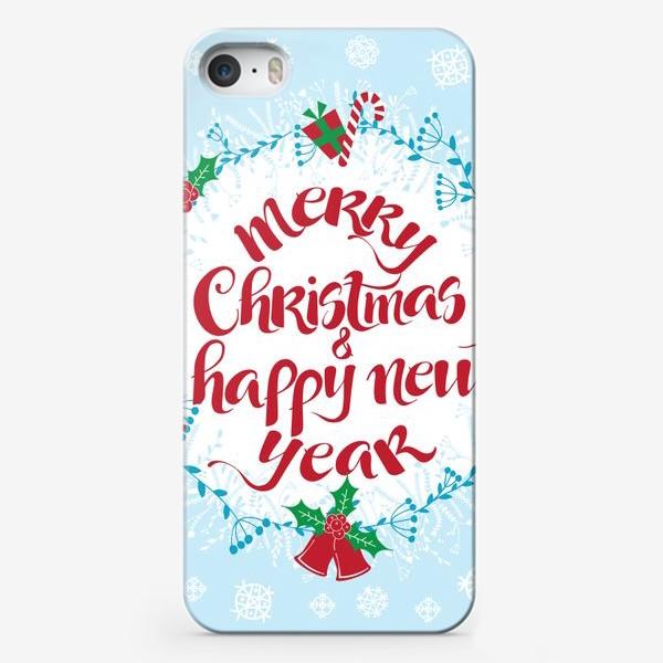 Чехол iPhone «С Рождеством и Новым Годом»