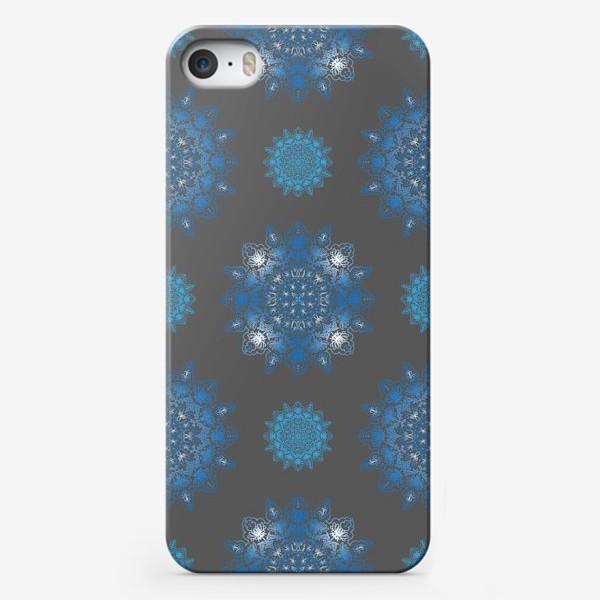 Чехол iPhone «Паттерн зимний»