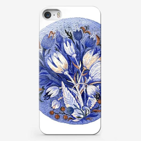 Чехол iPhone «Зимние цветы»
