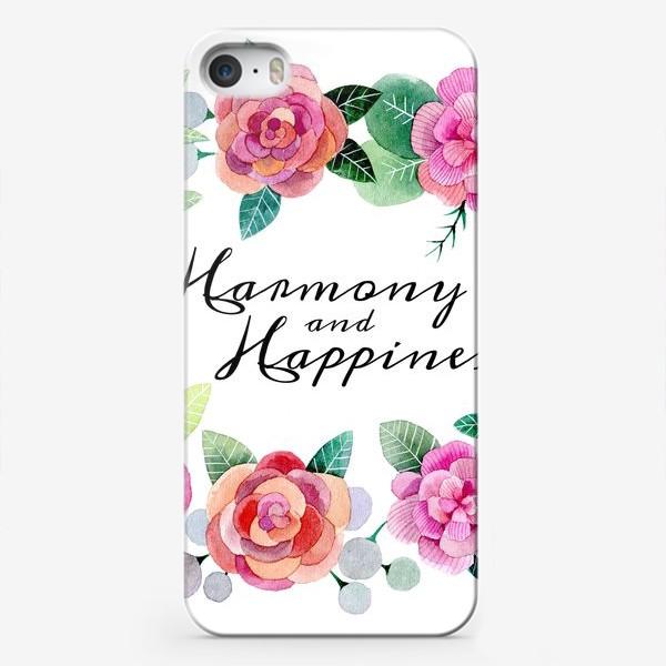 Чехол iPhone «Гармония и любовь»