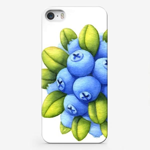 Чехол iPhone «Голубика»