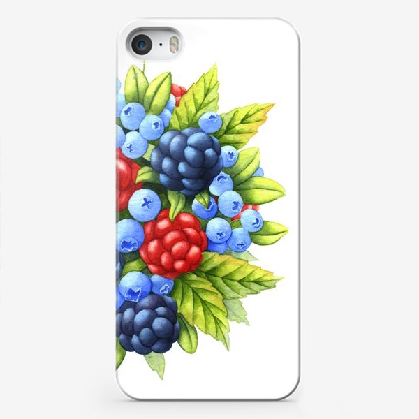 Чехол iPhone «Ягоды»